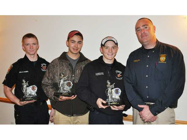 Champe, Ray, Brazell are LFD Firefighters of the Year