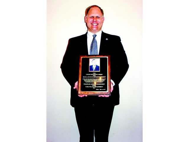 Camden native honored with Strom Thurmond Excellence in Law Enforcement Award