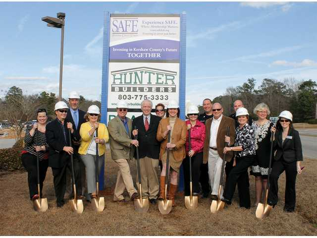 SAFE FCU breaks ground on Lugoff branch