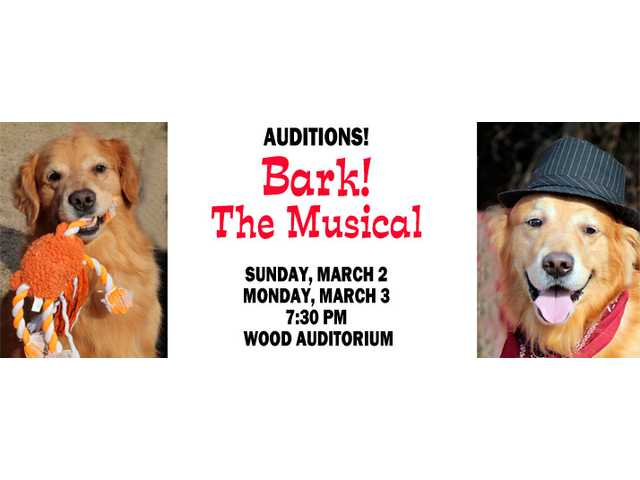 FAC announces auditions for Bark! The Musical