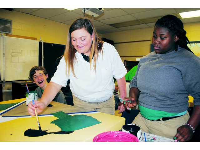 Kershaw County schools celebrate, practice art
