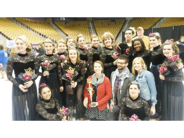 L-EHS Winter Guard Utopia takes first place