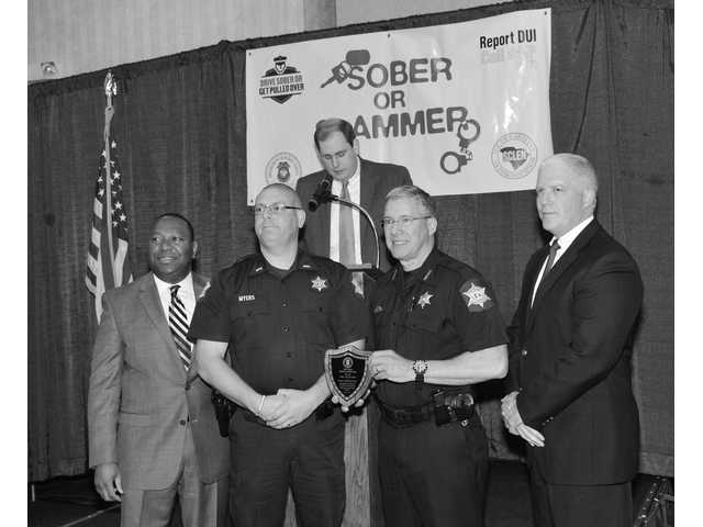 Local law enforcement recognized for DUI enforcement