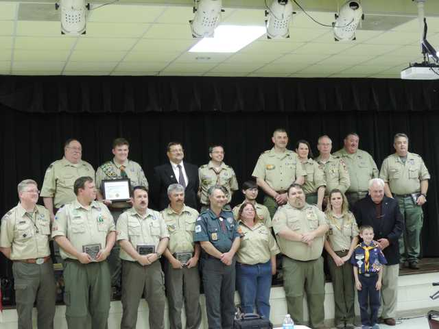 Boy Scouts of Wateree District Awards held
