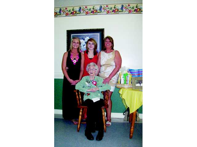 Evelyn Johnson celebrates 100th birthday