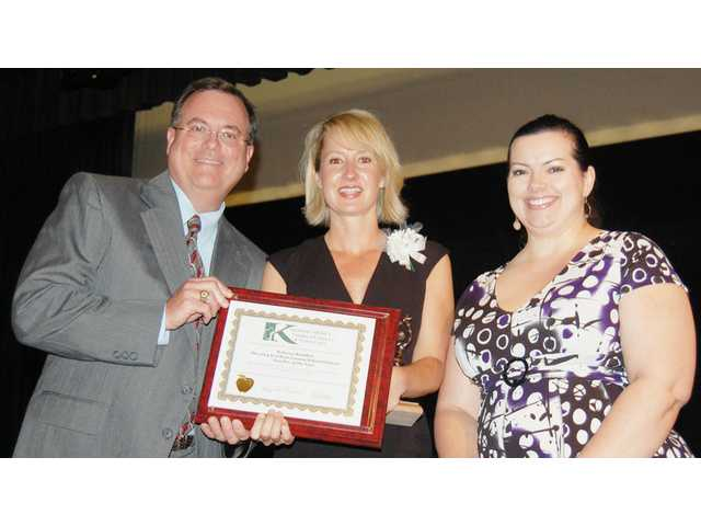 CHS English teacher named district's best
