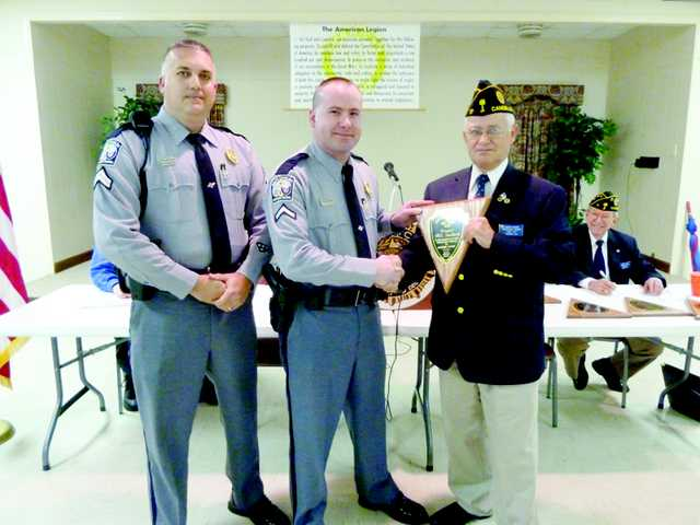 American Legion Post 17 recognizes law enforcement, fire safety personnel
