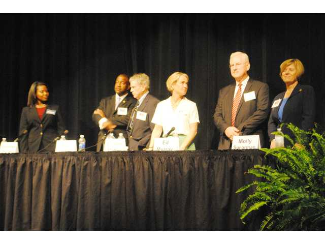 S.C. Superintendent candidates debate at CHS