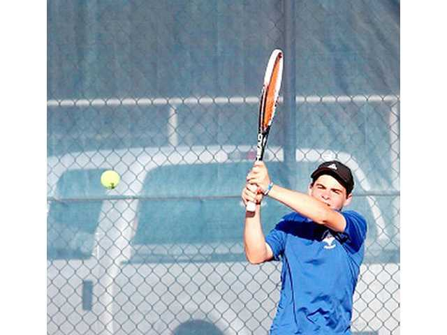 Horton plays his way onto 4A All-state tennis team