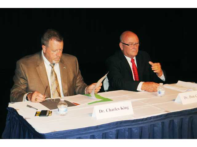 Copley, King discuss goals at Educated Voter Forum