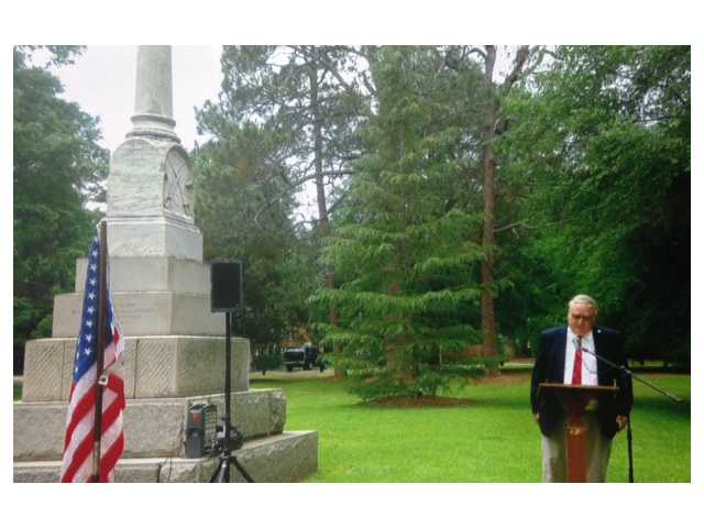Confederate Memorial Day remembered in Camden