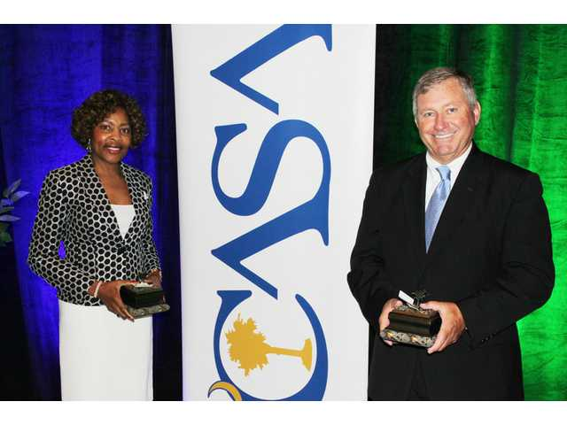 Long, Dean receive SCASA Lifetime Achievement awards