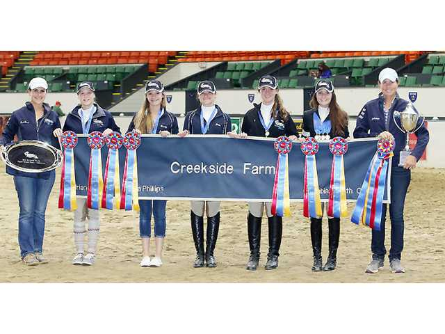 Camden's Gates helps open door to IEA title for Creekside Farm