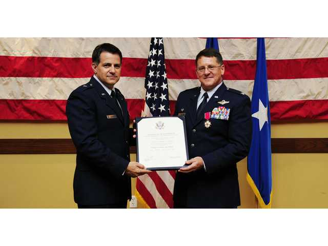 CHS '83 grad retires from Air Force