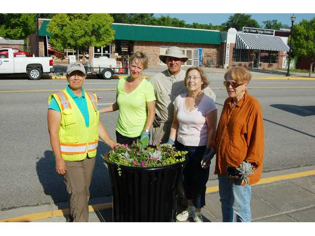 Camden Garden Club helps beautify downtown