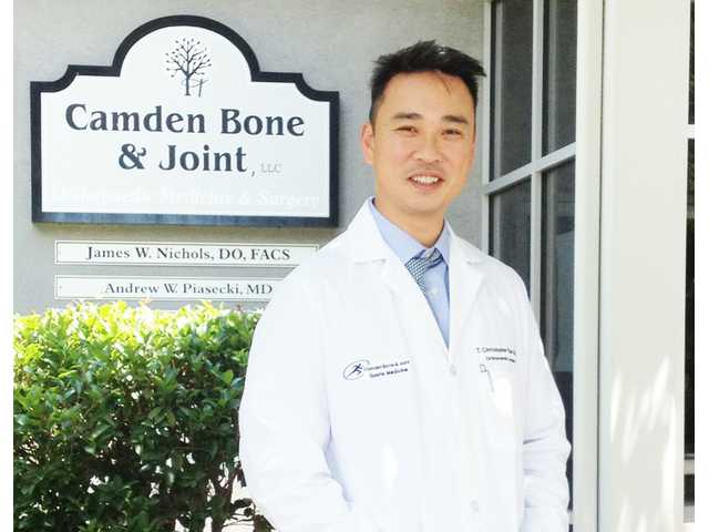 New orthopedic surgeon joins Camden Bone & Joint