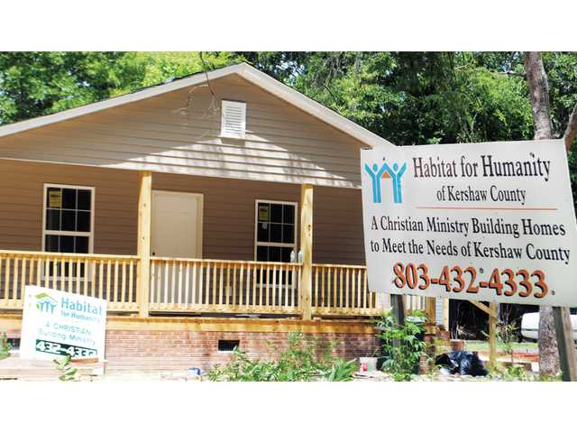 Habitat for Humanity constructing 35th home