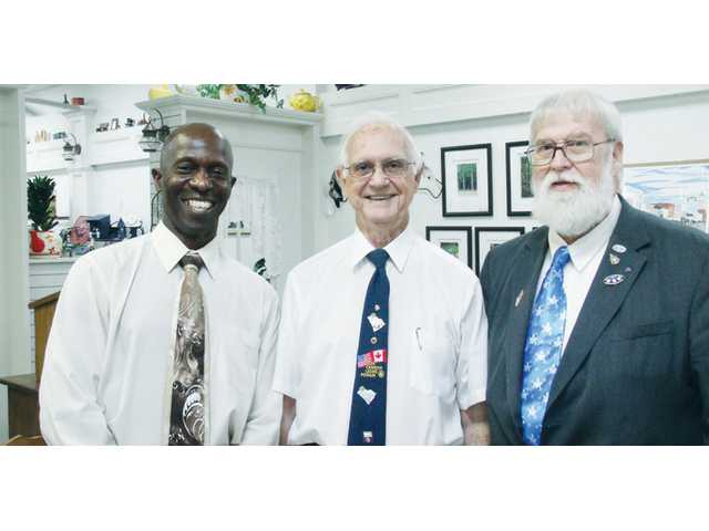 Camden Lions Club installs new officers