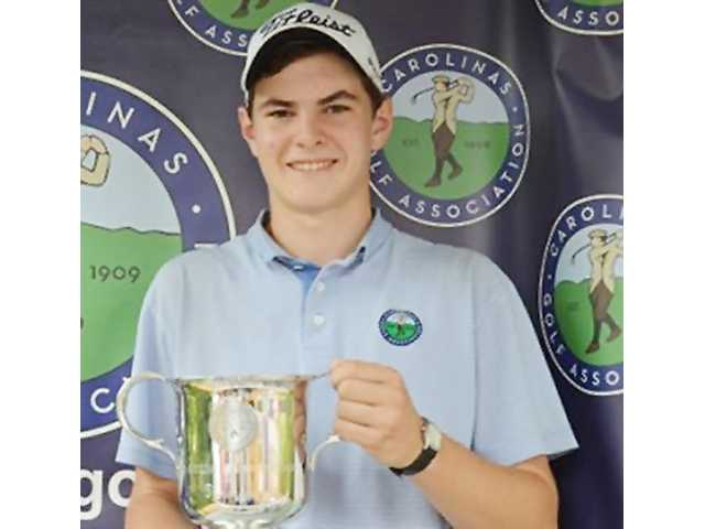 Shimp redeems himself to take CGA junior boys' title at CCC