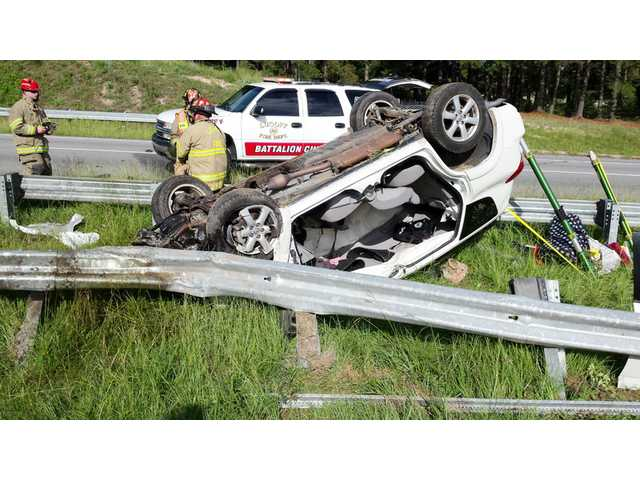 LF-R responds to SUV that fell off I-20 overpass