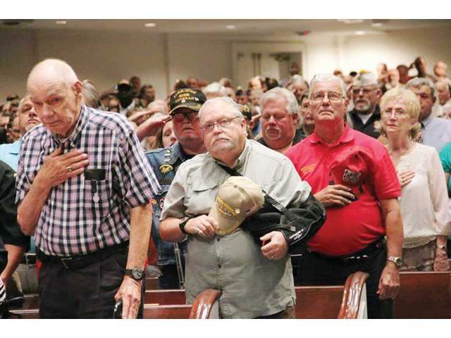 Local Vietnam War Veterans honored at ceremony