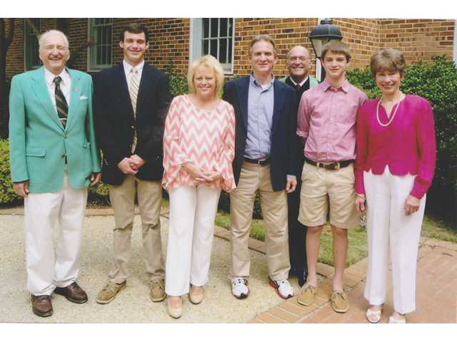 Grey Hoke awarded 2014 Parrott Memorial Scholarship
