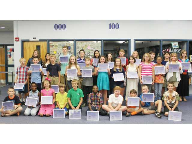 School board recognizes top PASS scorers