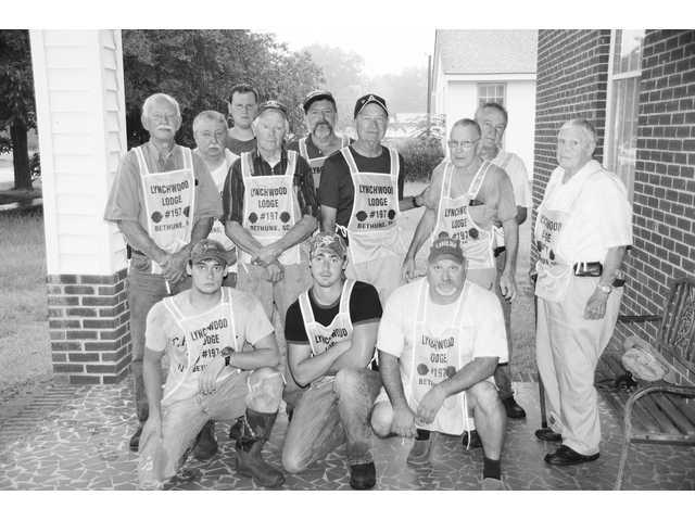 Lynchwood Lodge 197 Masons clean up Bethune