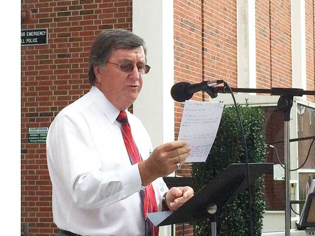 Churches host 9/11 service at Kershaw County Courthouse