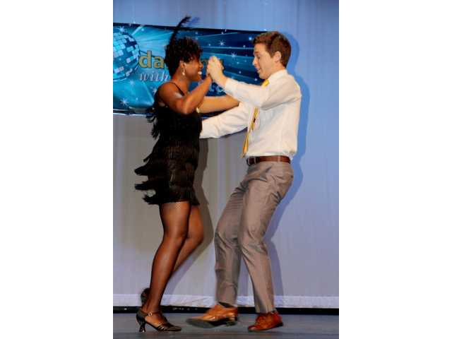 Fine Arts Center's Dancing with the Stars competitors show off their best dance moves