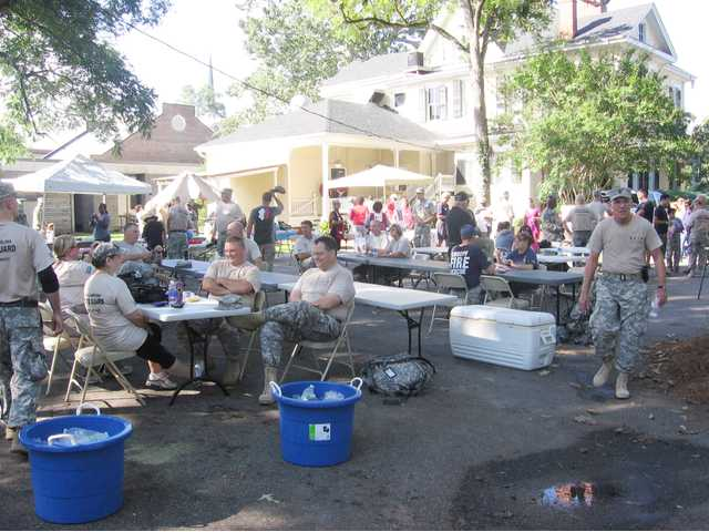 South Carolina State Guard and Red Cross host Hurricane Hike