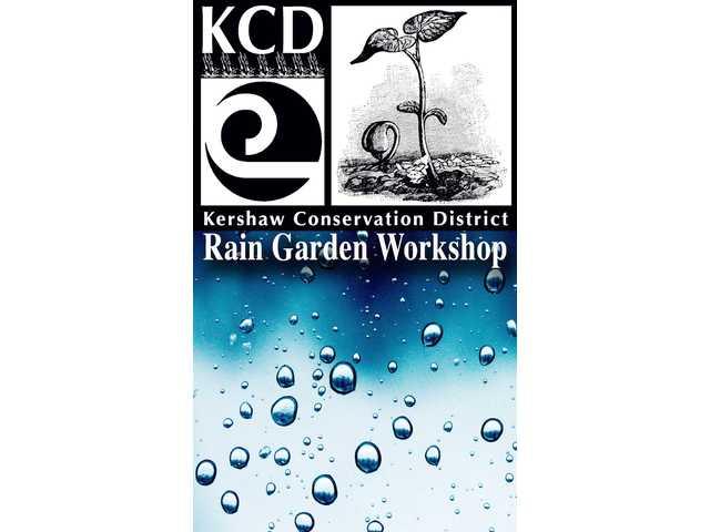 Rain garden workshop will kick off Oct. 30