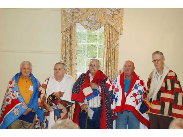 Quilts of Valor honors 5 Kershaw County veterans