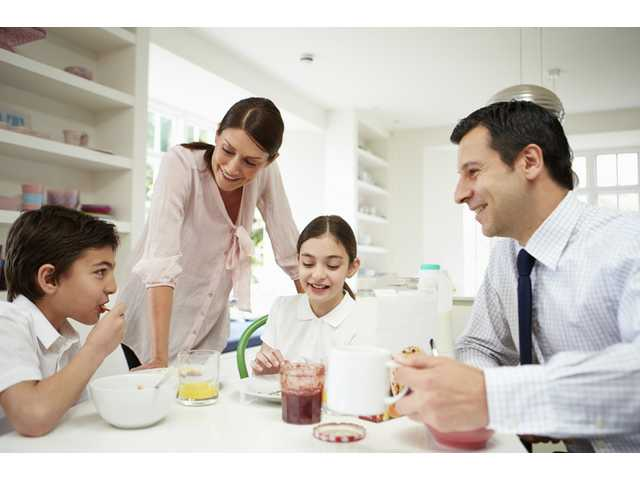 Eight tips for a smooth family morning routine