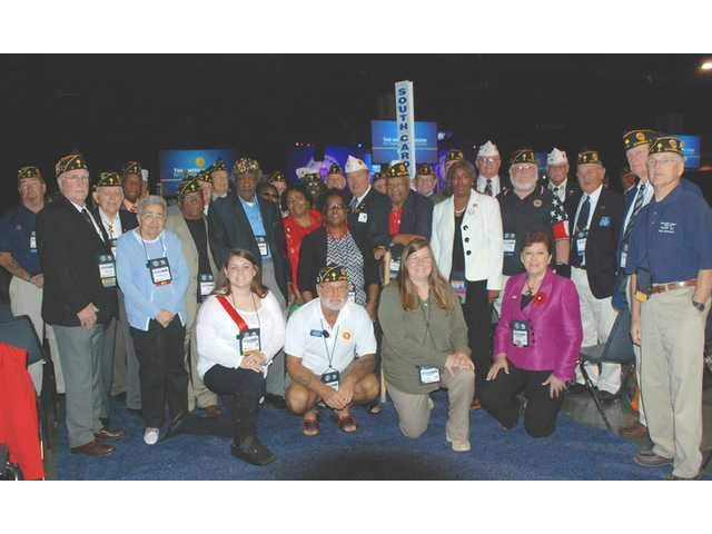 Camden area residents attends American Legion Auxiliary's 94th National Convention