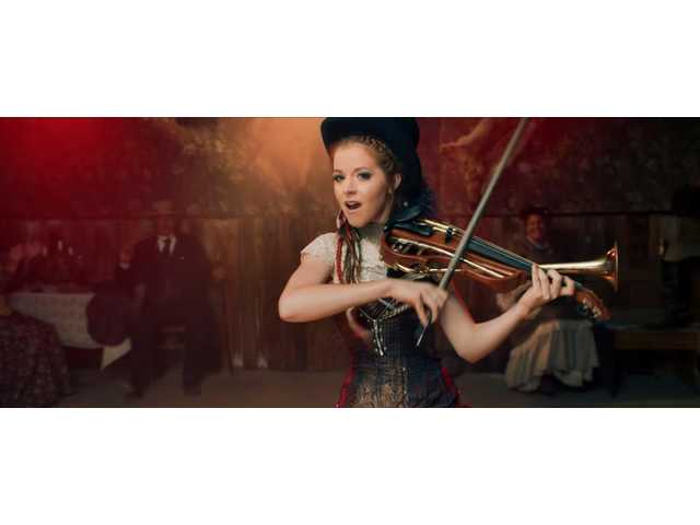 Lindsey Stirling visits the Old West in latest video