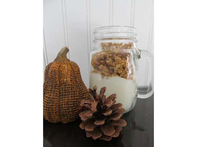 Pumpkin Spice Granola is a healthy fall treat