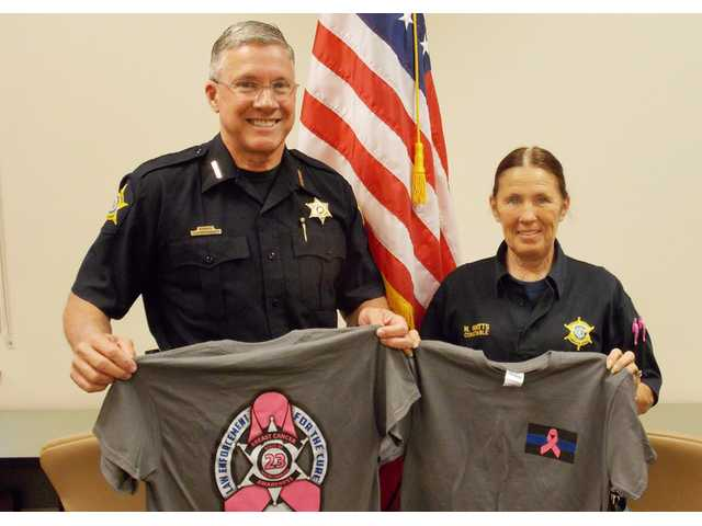 KCSO supports cancer research, constable