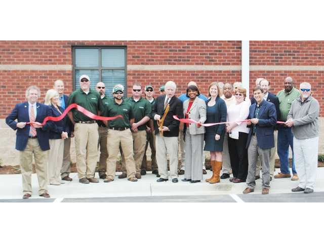 Camden celebrates completion of wastewater treatment plant