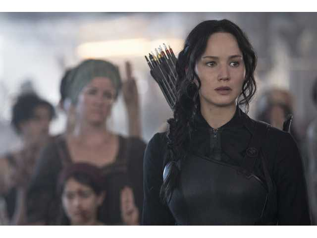 'Fire is catching,' so catch up with Katniss