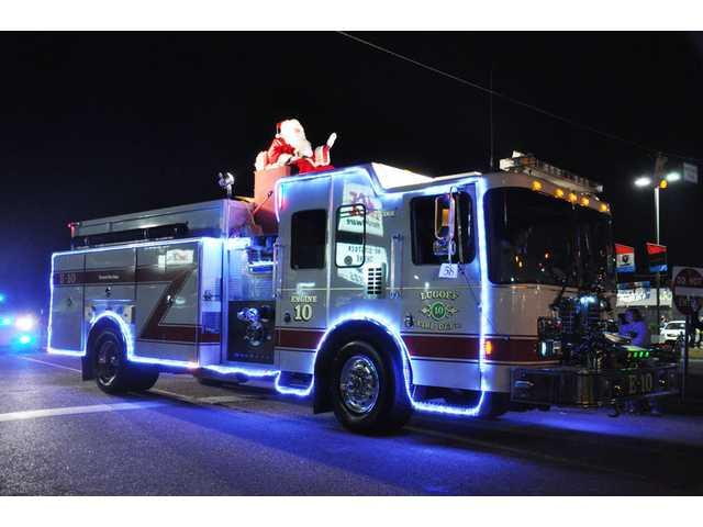 LF-R to give Santa a lift through town