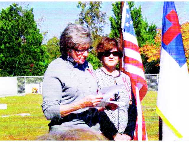 John D. Kennedy Chapter of UDC unveils grave marker