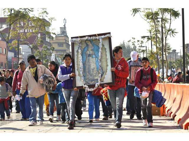 Does Mexican Virgin Mary holiday matter to Americans?