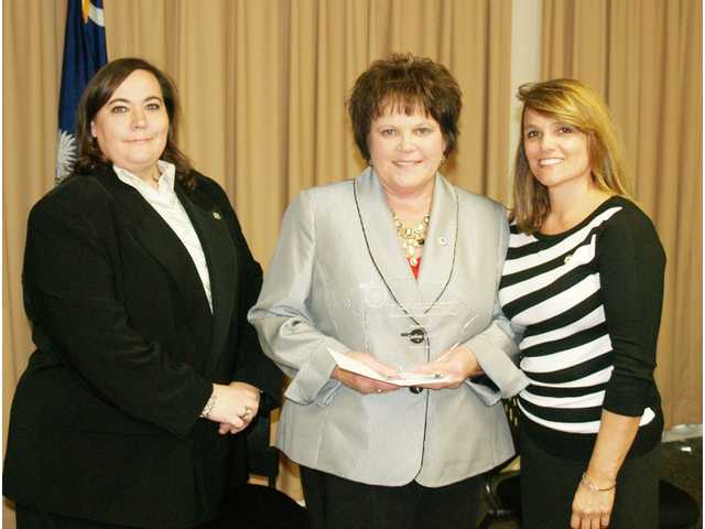 Glenn is SCDPPPS Administrative Support Staffer of the Year