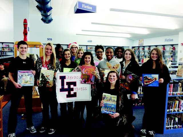 LEHS Demon Literacy Express stops at Blaney,  Doby's Mill and Wateree