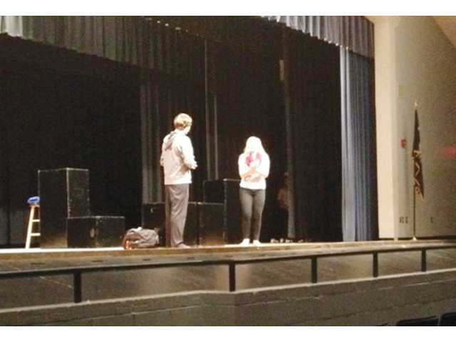 L-EHS Drama Dept. showcases student work