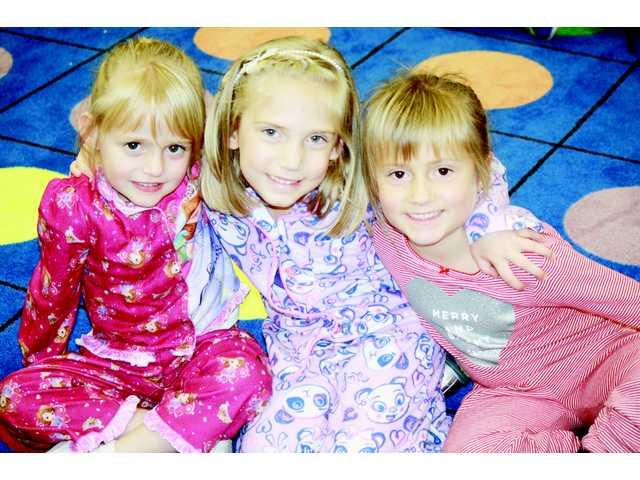 Wateree wears pajamas for PBIS celebration