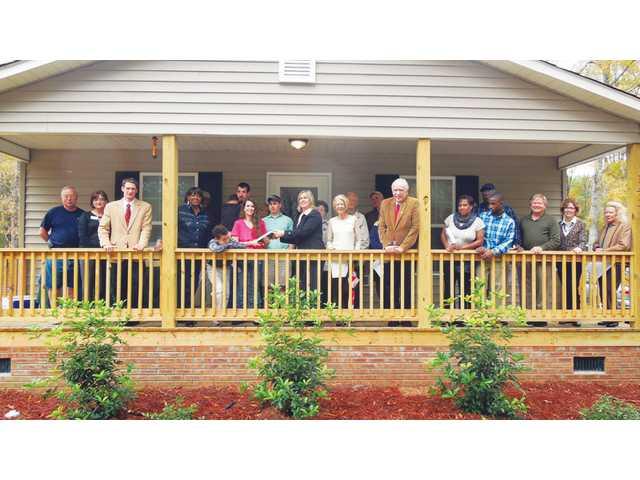 Habitat for Humanity of Kershaw County dedicates new home