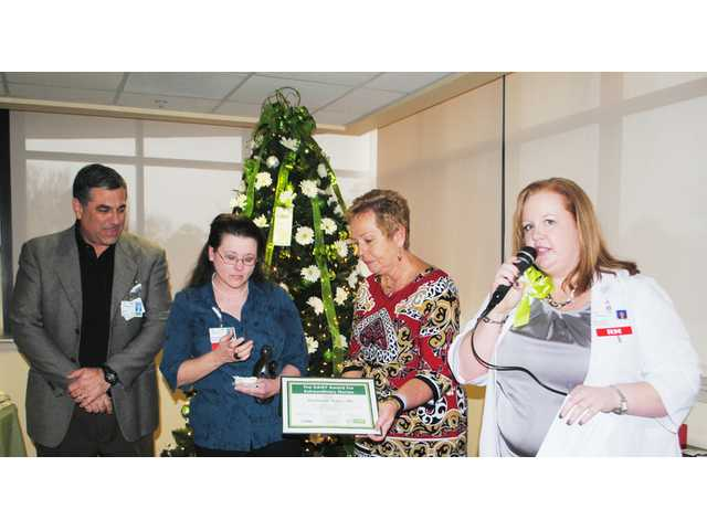 ICU nurse honored with first DAISY Award