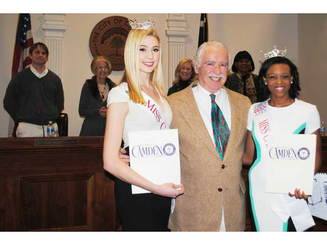 Pageant winners recognized